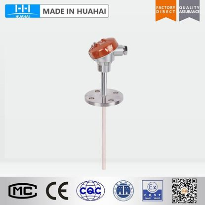 Picture of WRP-430 Fixed flange Platinum/Rhodium thermocouple